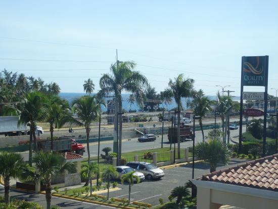 Quality Hotel Real Aeropuerto Santo Domingo : Vista al mar