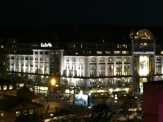 Ibis Berlin Kurfurstendamm: Blick vom Balkon
