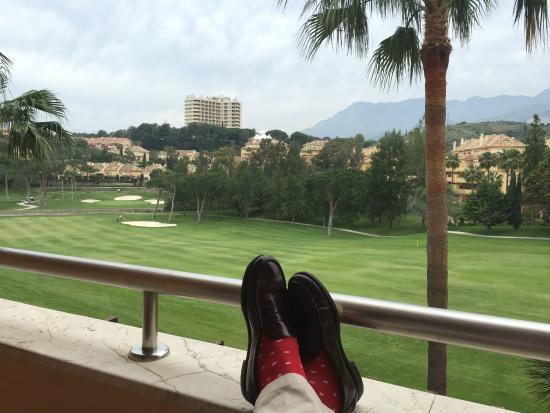Rio Real Golf Hotel: Vista desde habitación