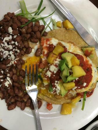 The Naked Cafe: Huevos Rancheros