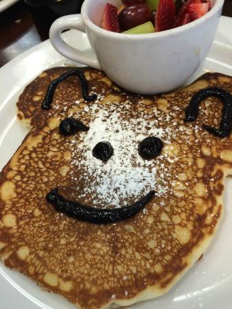 The Naked Cafe: Kids pancakes