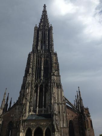 Der Höchste Kirchturm Der Welt Bild Von Ulmer Münster Ulm