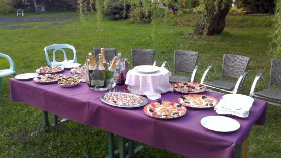 Hotel Lacour: Le jardin