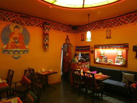 Tibet Gimalai: Dining room
