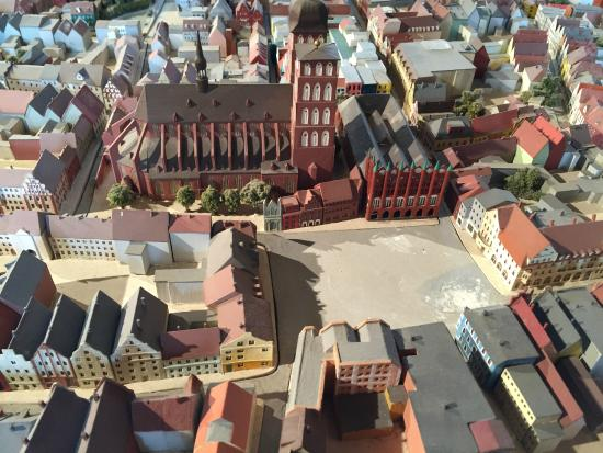 Dielenhaus: Rathaus from above