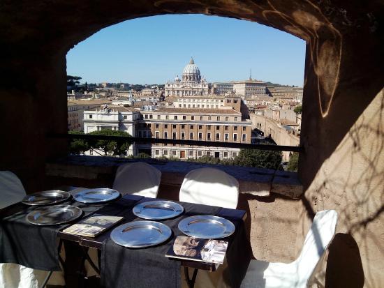 bella vista - Foto di Caffetteria Ristorante Le Terrazze, Roma ...