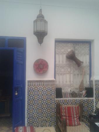 Riad Dar Tiflet: L'accueil