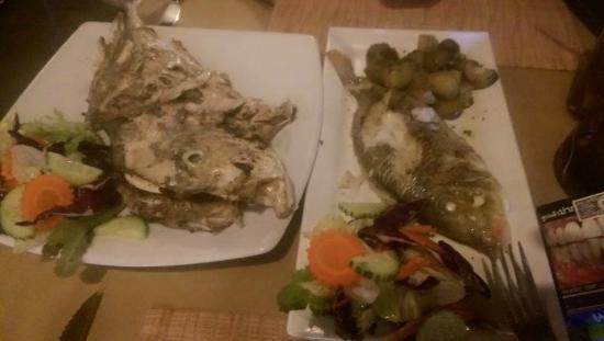 Cafe de Lotus: BBQ fish