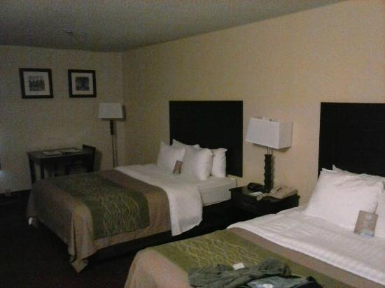 Comfort Inn West: Queen room