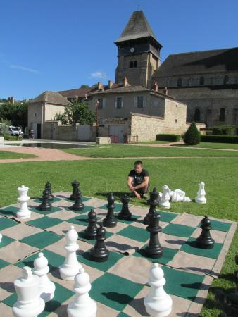 Chambon-sur-Voueize, France: The monastery attached to the church