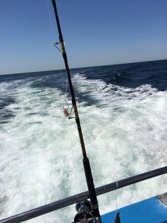 On the ocean picture of voyager fishing charters north for Fishing charters cleveland ohio