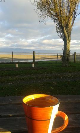 Tahuna Beach Kiwi Holiday Park and Motel: Morning !