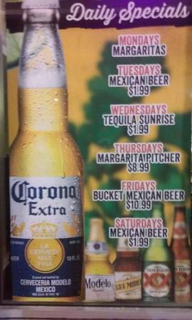 Don Jalapeno's : daily drinkspecials