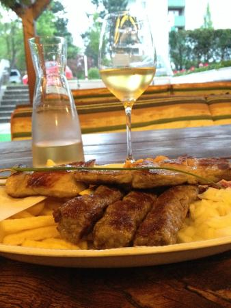 Zagreb: Cevapcici with Pork Skewers