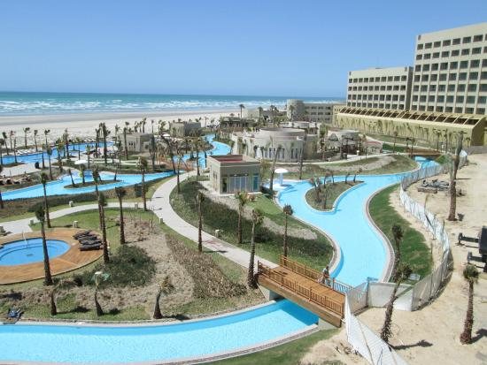 View Of Pool And Lazy River From Our Grand Mayan Suite Picture Of Mayan Palace Puerto Penasco