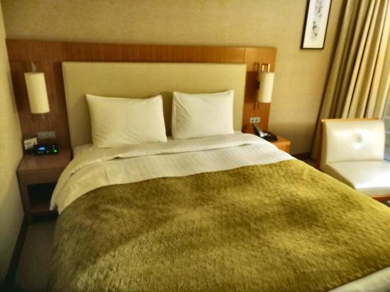 Hotel Associa Shin-Yokohama: The Queen bed