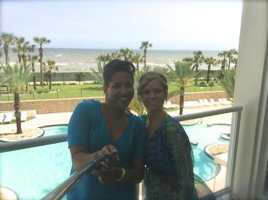 Diamond Beach : Condo 314 balcony