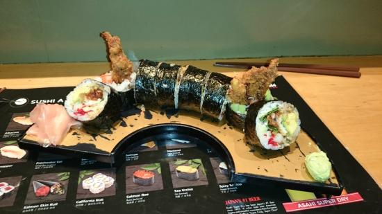 spider roll picture of hinote sushi restaurant mississauga tripadvisor. Black Bedroom Furniture Sets. Home Design Ideas