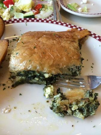 Table Talk Diner: Spanikopita