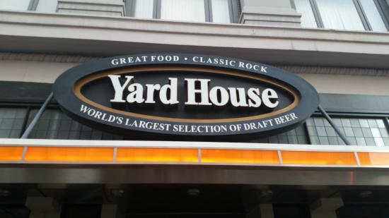 Yard House: Front of the Restaurant