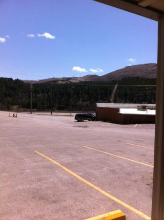 Deadwood Station Bunkhouse & Gambling Hall : View from room