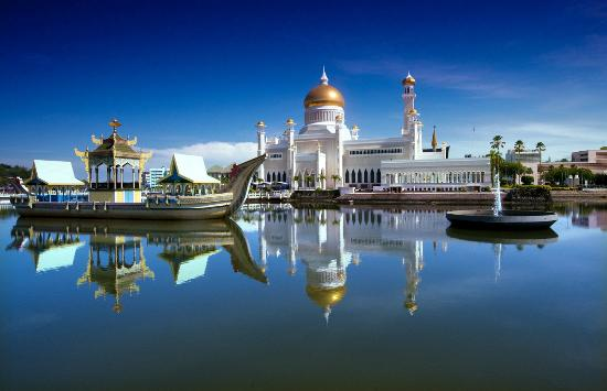 Bandar Seri Begawan, Brunei Darussalam: Sultan Omar Ali Saifuddien Mosque