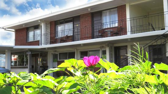 Kuirau Park Motor Lodge: Outdoor View of Property