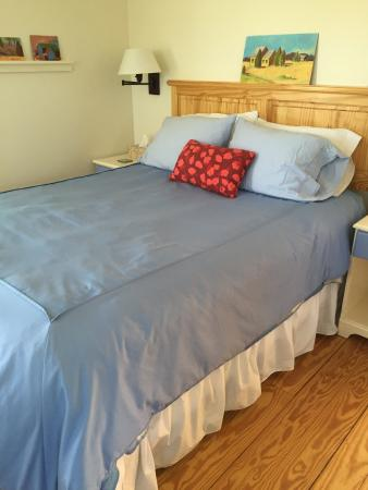 The Broad Meadow Bed & Breakfast: Comfortable Queen Bed
