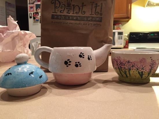 Paint It! Pottery Shop: So fun