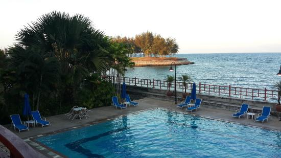 Kudat Golf and Marina Resort: View from Resort Lobby