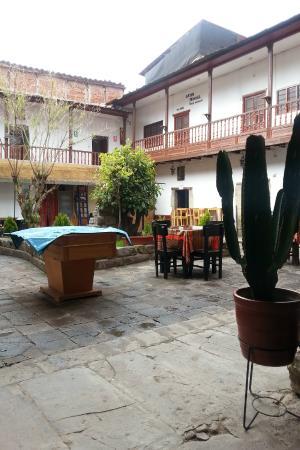 Inka's Hostel: Area comun