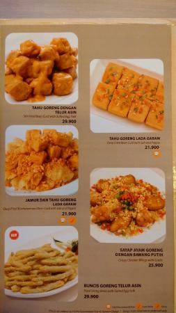 Menu At Imperial Kitchen Dimsum Kuningan City Picture Of