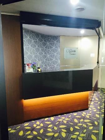 Astor Apartments Brisbane: Reception