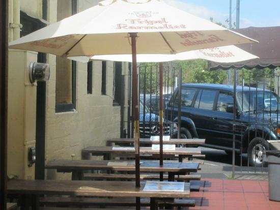 Patio Tables, The Rose And Crown, Palo Alto, Ca