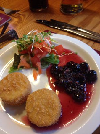 The Red Cow: A selection of starters