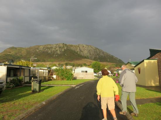 Stanley Cabin and Tourist Park : With 'The Nut' a short walk away, we head off to explore.