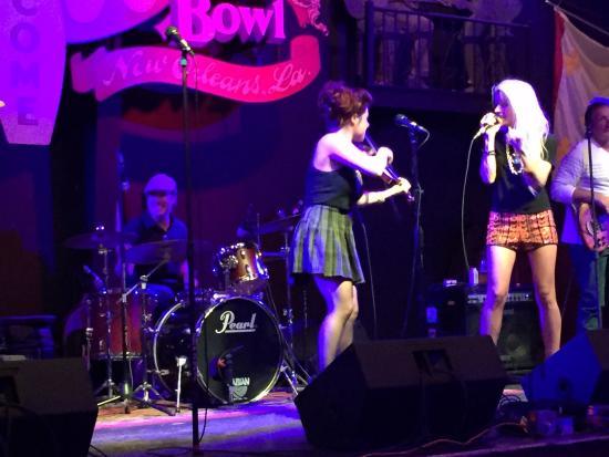 Rock n Bowl - Mid City Lanes: Amanda Shaw