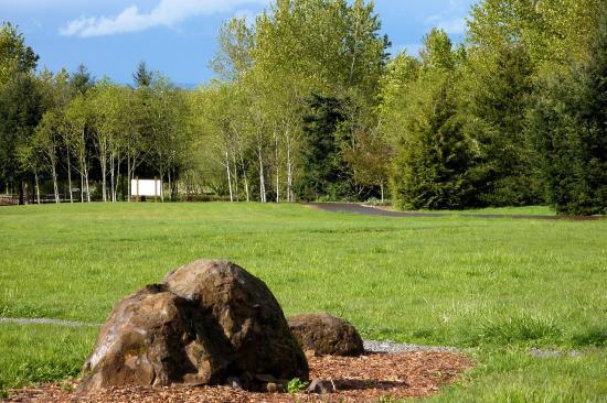 Oregon Garden Resort Silverton Oregon. View from Garden Restaurant ...