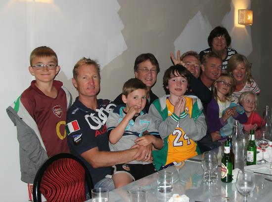 Torbay, New Zealand: Caleb's 11th Birthday dinner