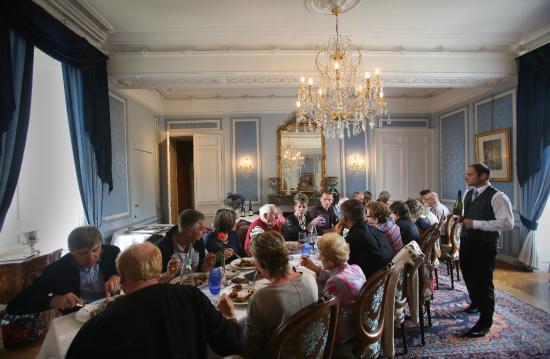 le salon bleu - Picture of Chateau de la Verie, Challans - TripAdvisor