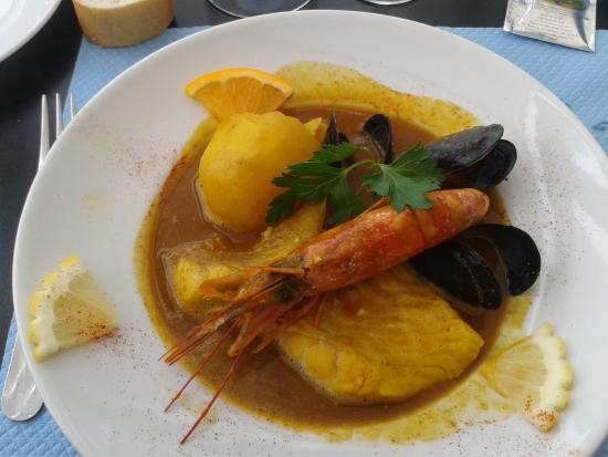 Hotel-Restaurant  Les Vagues: l' assiette du pécheur