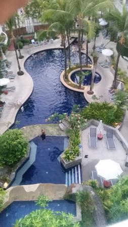 Pool View Picture Of Sunset Beach Resort Patong Tripadvisor