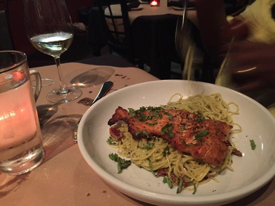 Pomodori: Salmon!!! Absolutely delicious