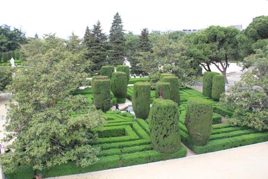 Vue plongeante sur les jardins picture of jardines de for Jardines sabatini