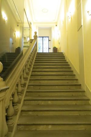 Hotel California Florence: scalinata