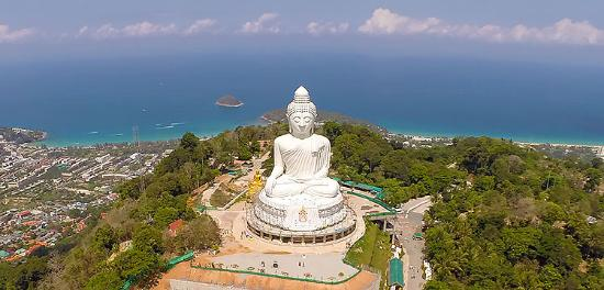 Chalong, Tayland: big buddha