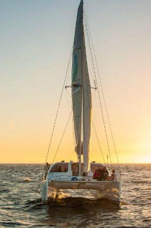 Spanish Town, Virgin Gorda: Sunset sail