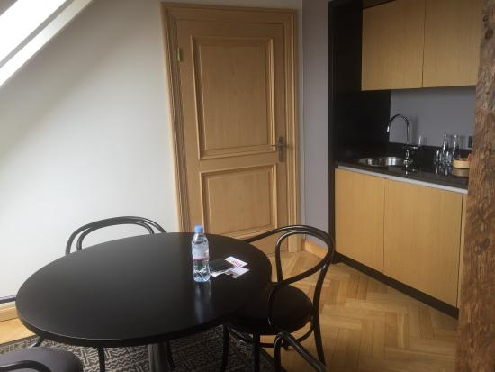Nice kitchen picture of neiburgs hotel riga tripadvisor for Nice kitchen pictures