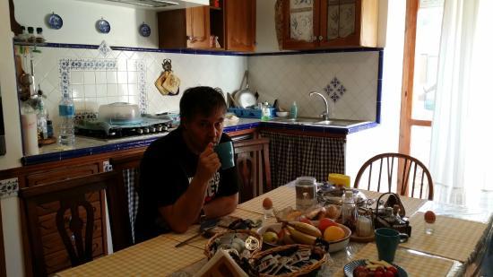Il Mare Di Alghero : Frukostdax