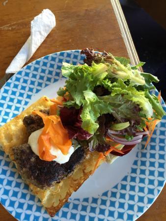 Socrates Table Cafe: Lamb burger